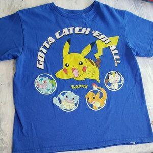 Boys Pokemon Short sleeved T-shirt